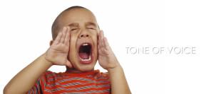 harold kip tone voice: jongetje schreeuwt